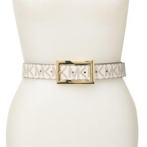 MICHAEL Michael Kors Logo Reversible Belt